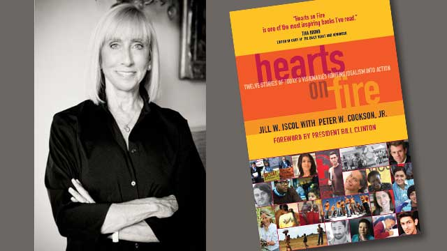 """Jill Iscol, author of """"Hearts on Fire"""""""
