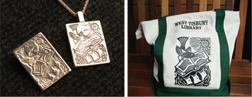 Sterling Silver Pins & Pendants, and Totes